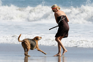 Charlize Theron - Dignified Dog Lover